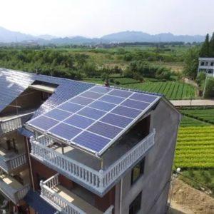 家庭屋顶光伏发电项目解决方案