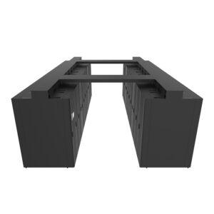 室内双排微模块数据机房定制型方案