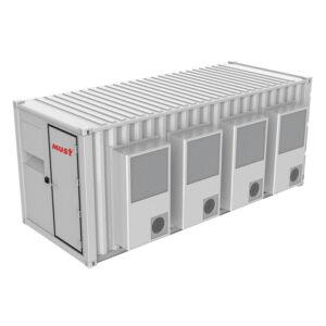 集装箱型微模块数据机房方案